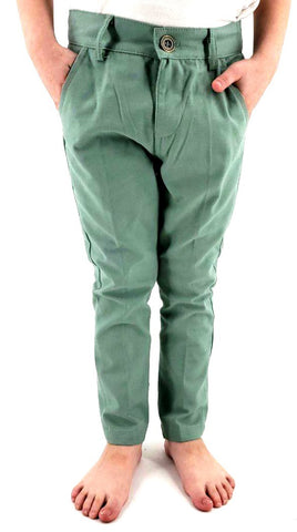 Twill Long Pants