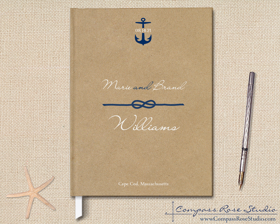 Tie the Knot Guest Book