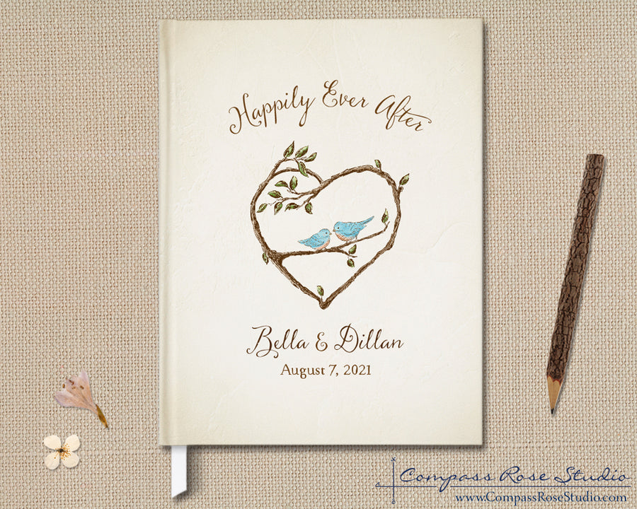 Bluebird Spring & Summer Guest Book