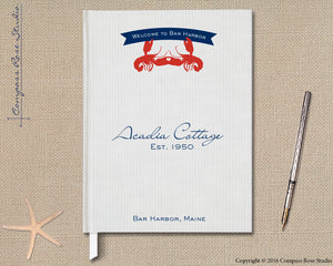 Lobster Love Guest Book