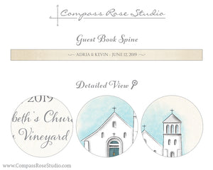 Venue Illustration Guest Book & Art Print