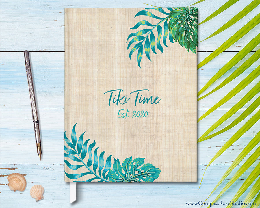Tiki Time Guest Book