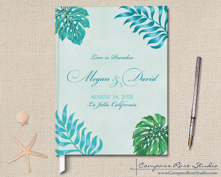 Love is Paradise Guest Book