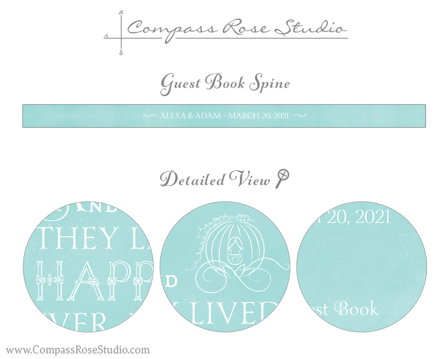 Cinderella's Carriage Guest Book