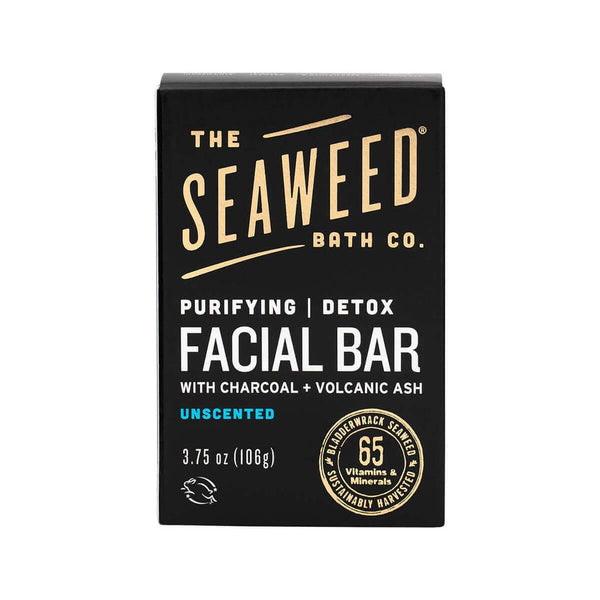 The Seaweed Bath Co Purifying Detox Facial Bar
