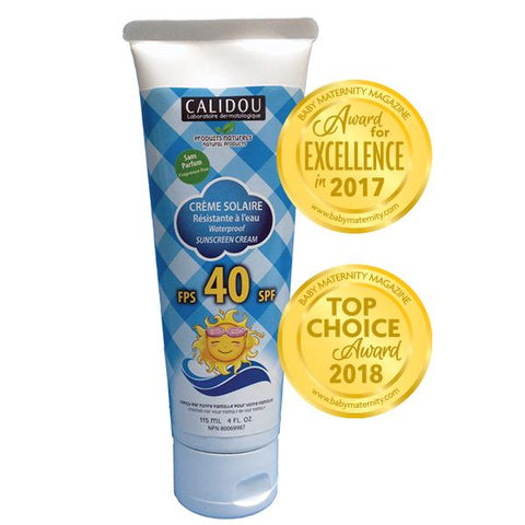 Calidou Waterproof Sunscreen SPF40 115 ml