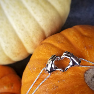 Heart Hand Pendant Set | B. Harju Jewelry