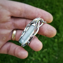 Load image into Gallery viewer, Aquamarine and Silver Pendant | B. Harju Jewelry