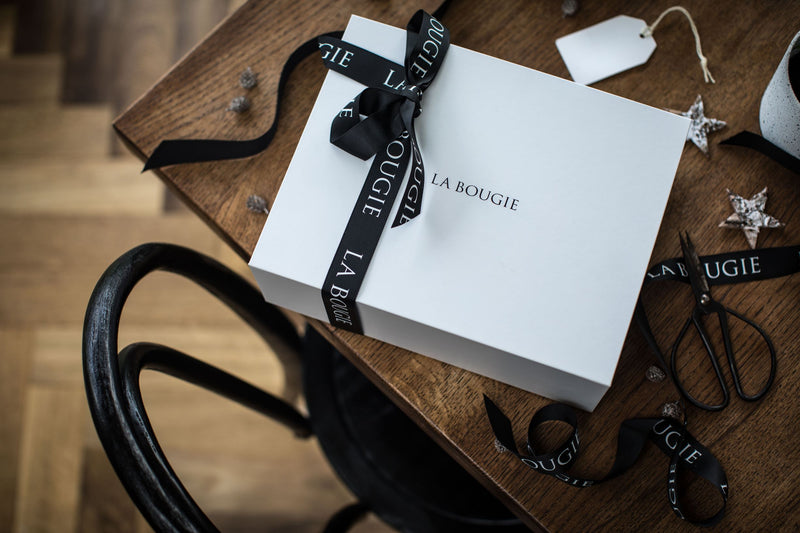 Our Iconic Gift Box with Ribbon