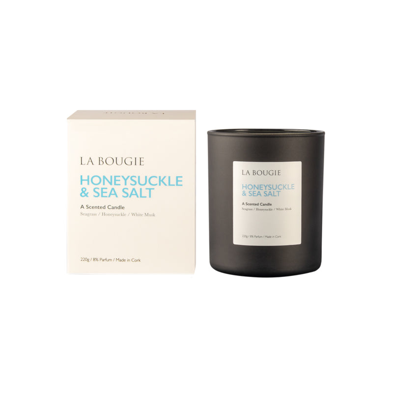 Honeysuckle & Sea Salt Candle