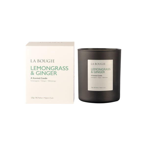 Lemongrass & Ginger Candle
