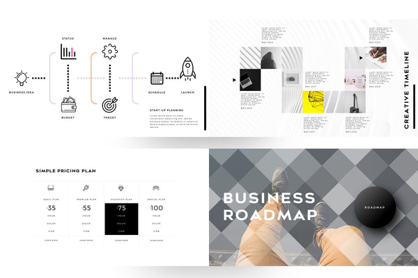 STRICT Corporate Business PowerPoint Template