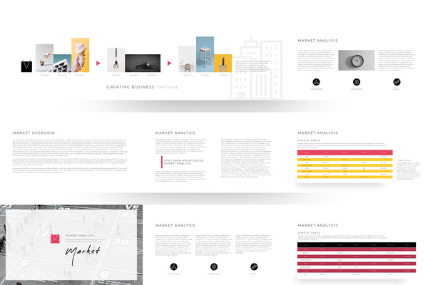 Vibrancy Special Business Portfolios PowerPoint Template