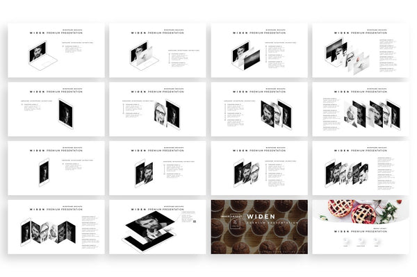 WIDEN Professional PowerPoint Template