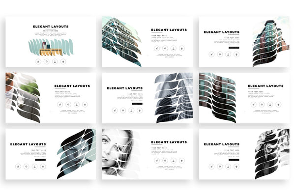 HOJAS Stylish PowerPoint Template