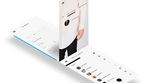 3 Layered APP Screen Mockup PowerPoint Template