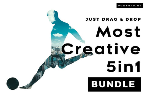 Most Creative 5 in 1 PowerPoint Bundle
