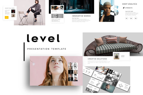 Level Marketing PowerPoint Template