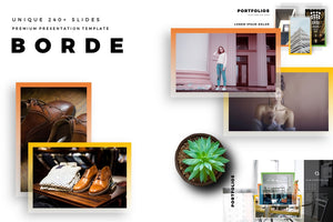 BORDE Border Builder PowerPoint Template