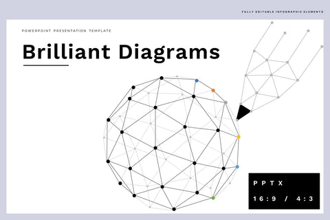 The Brilliant Diagrams PowerPoint Template