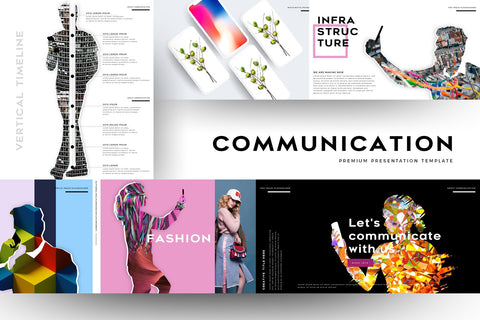 Communication People Portfolios Keynote Template