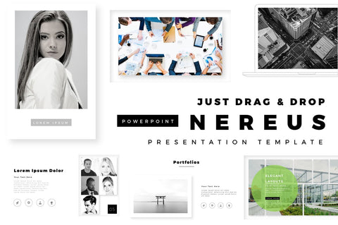 Nereus Gallery PowerPoint Template