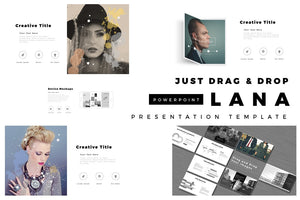 LANA Business Profile PowerPoint Template