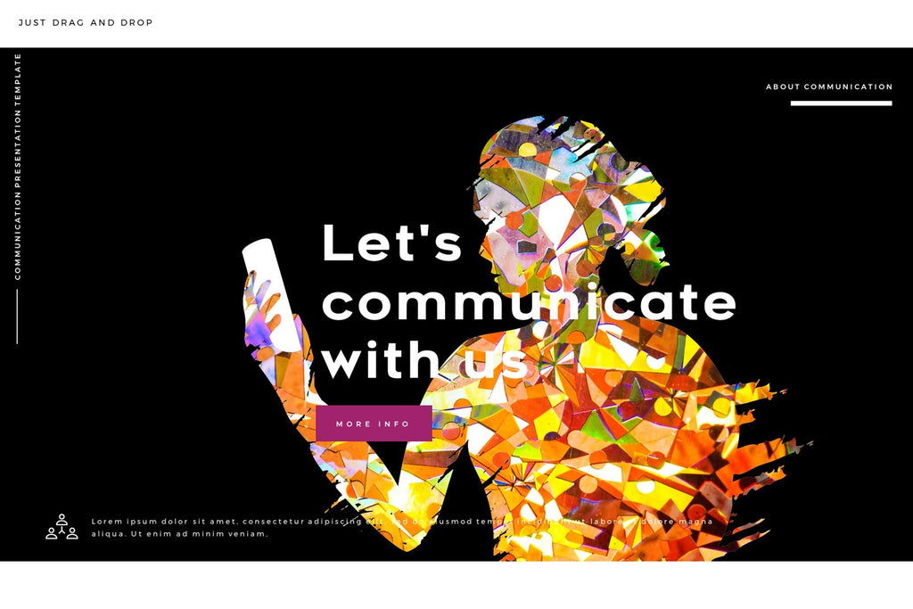 Communication people portfolios powerpoint template slidebe communication people portfolios powerpoint template communication people portfolios powerpoint template toneelgroepblik