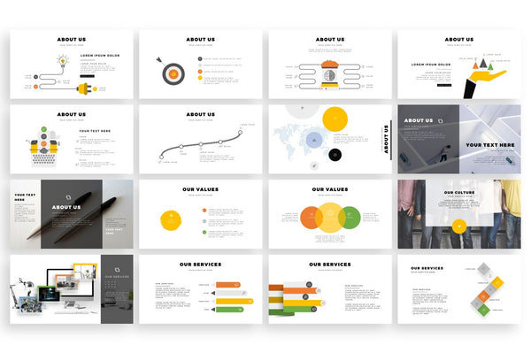 BORDE Border Effect PowerPoint Template