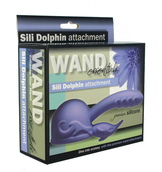 Wand Essentials Silicone Dolphin Wand Attachment
