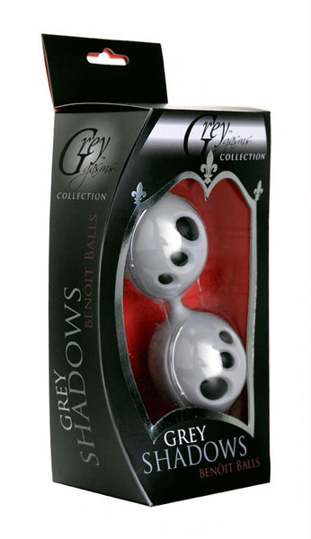 Grey Shadows Silicone Ben Wa Balls