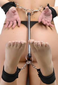 24 Inch Bondage Bar Kit with Cuffs