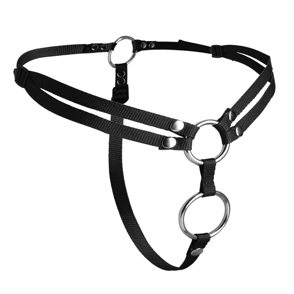 Unity Double Penetration Strap On Harness
