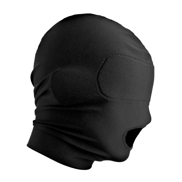 Disguise Open Mouth Hood with Padded Blindfold