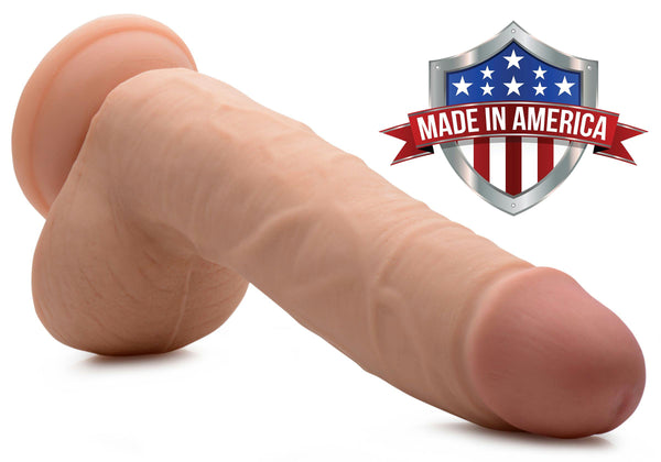 Andrew SkinTech Realistic 9 Inch Dildo