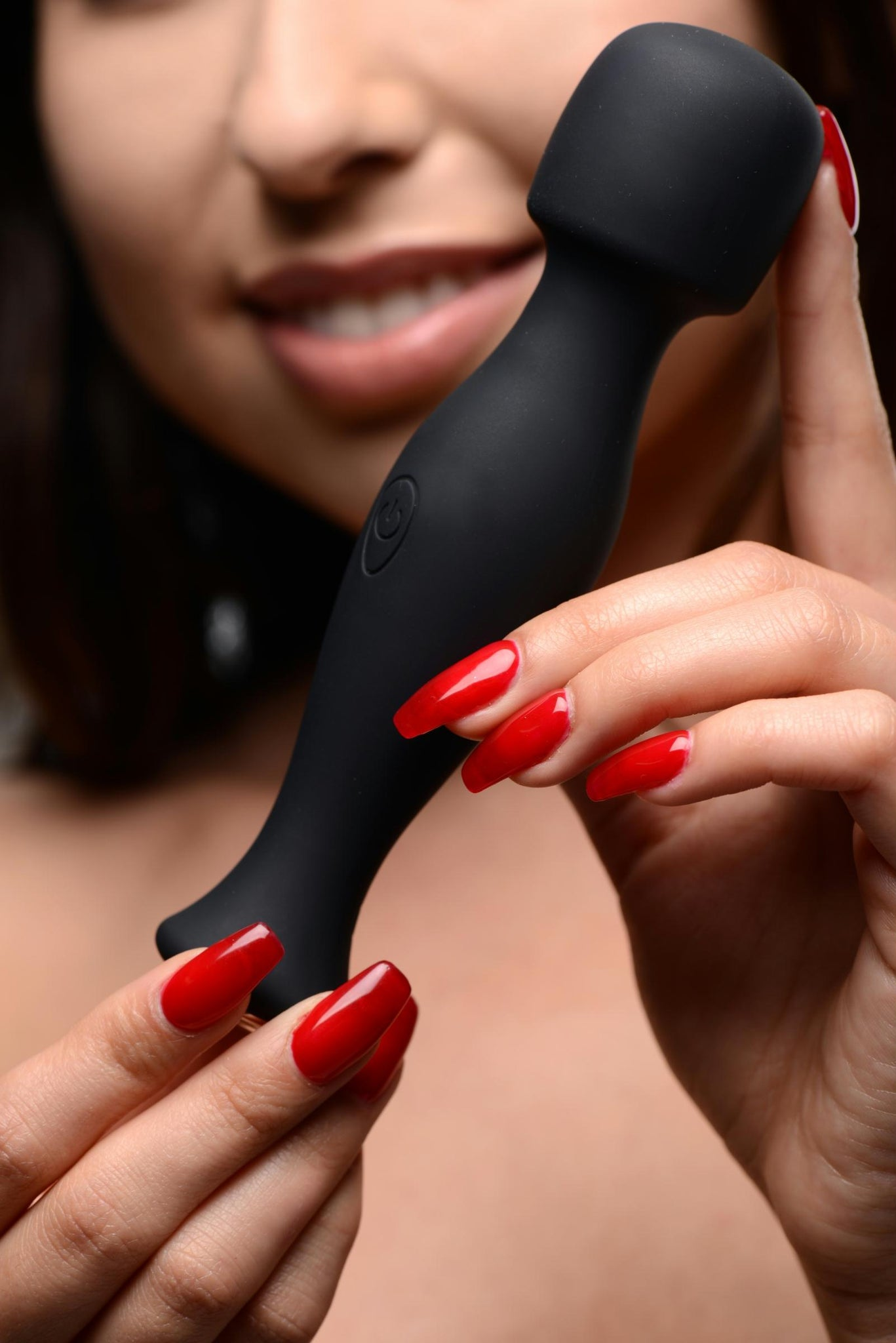 Mighty Pleaser Powerful 10x Silicone Wand Massager