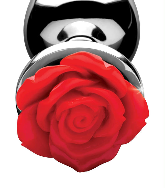 Red Rose Anal Plug