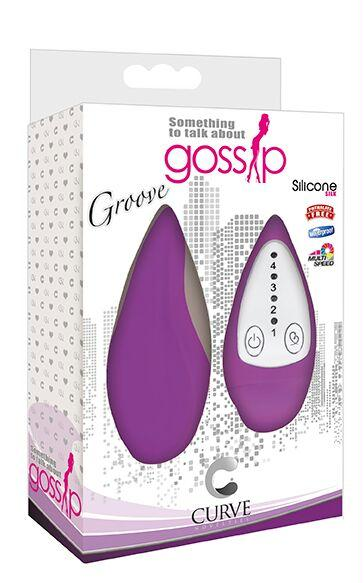 Groove Smooth Silicone Remote Vibe