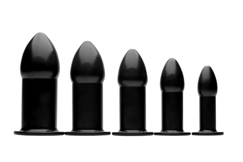 Graduated Anal Trainer Plug Set