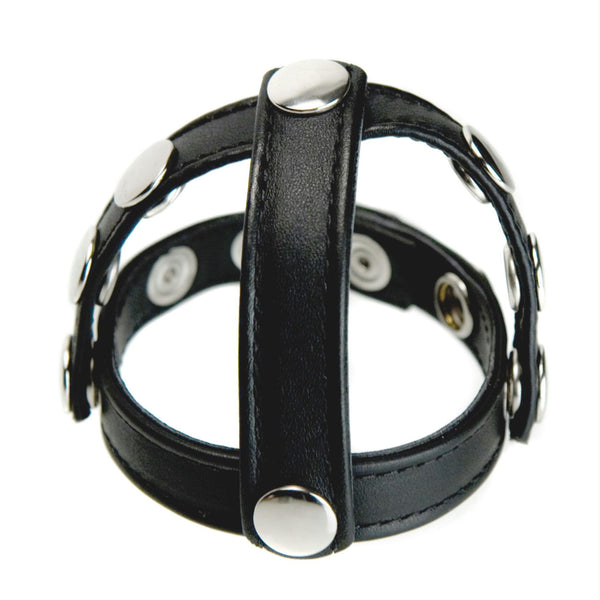 Strict Leather Snap-On Cock and Ball Harness