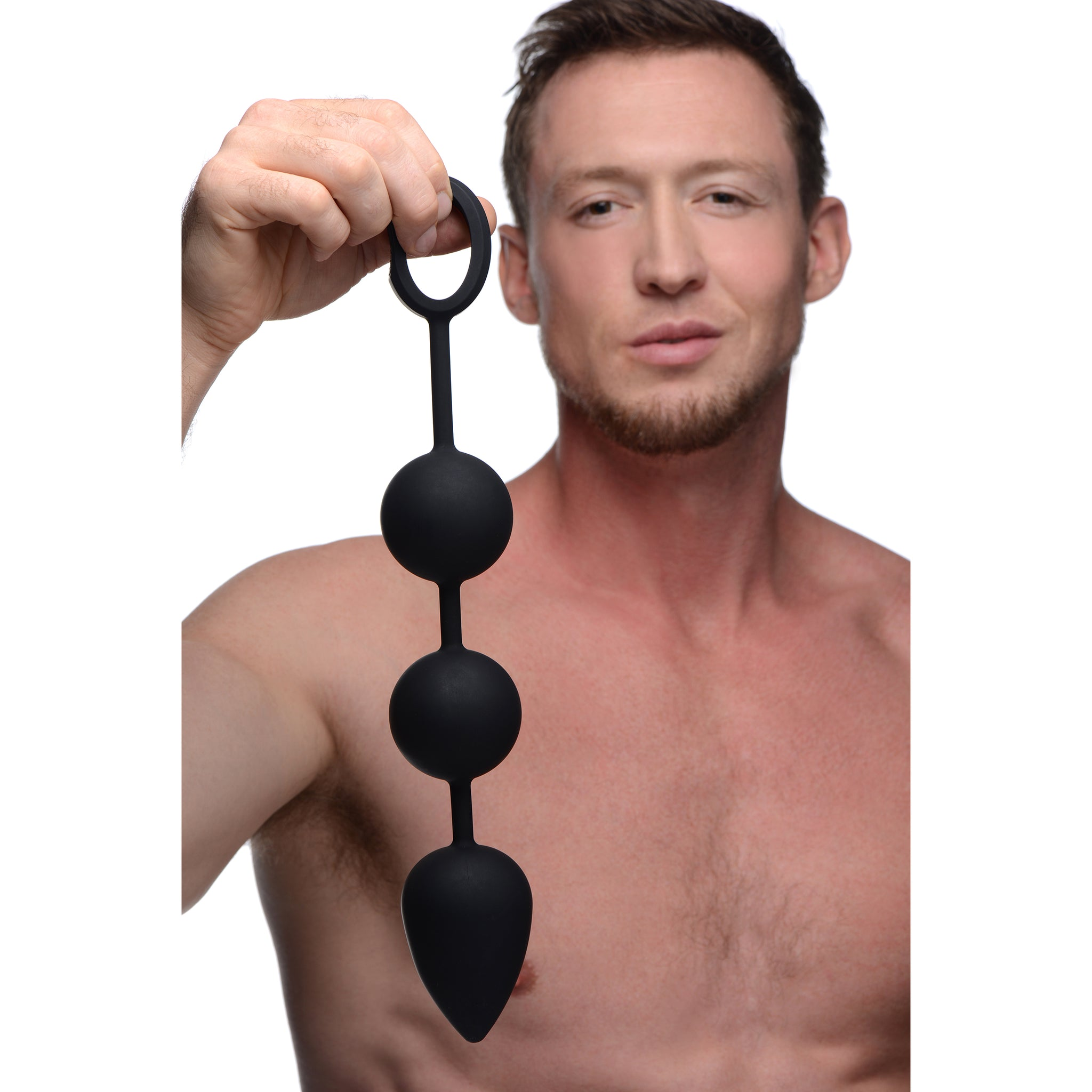 Tom of Finland Weighted Anal Ball Beads