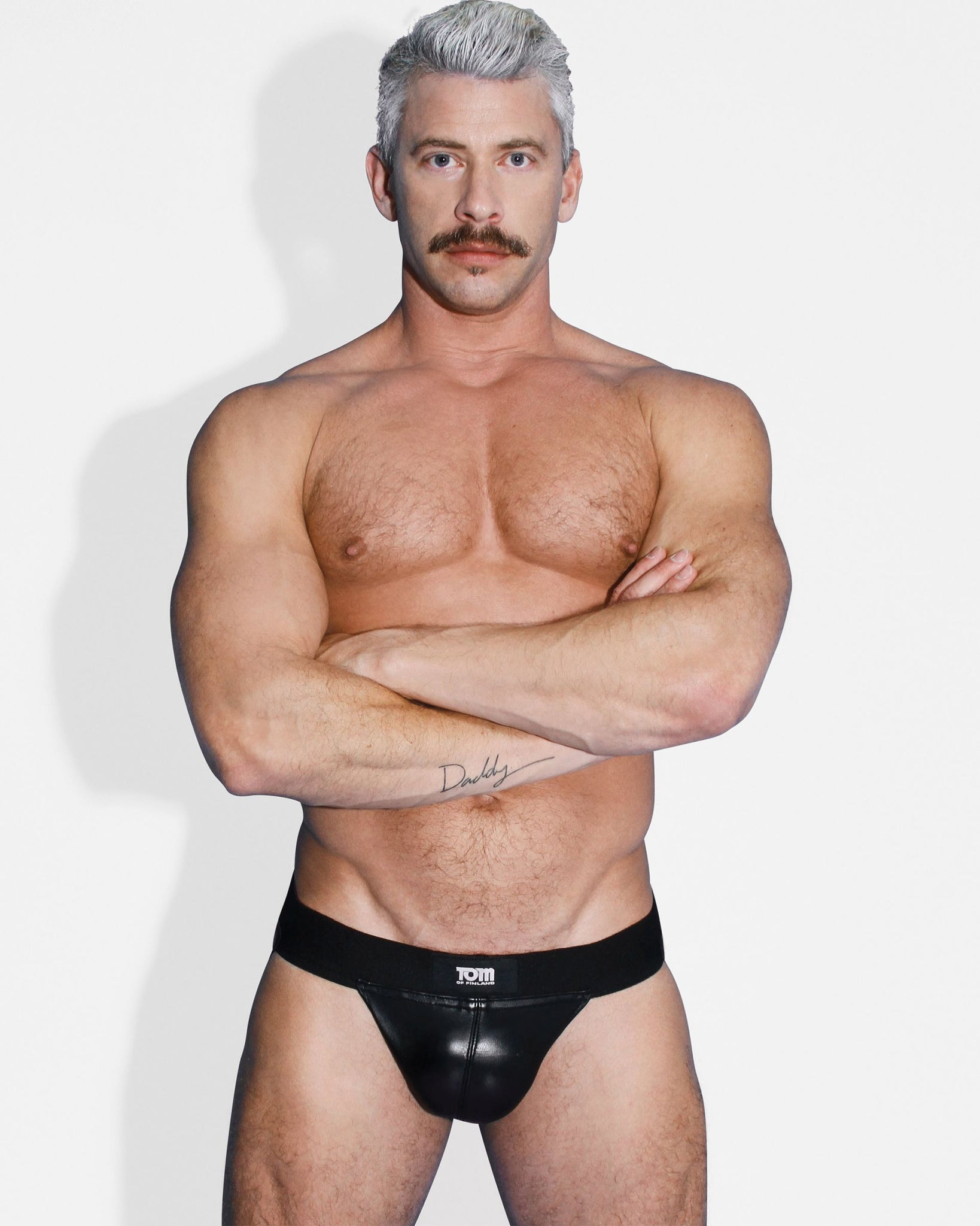 Tom of Finland Leather Jock Strap- S-M