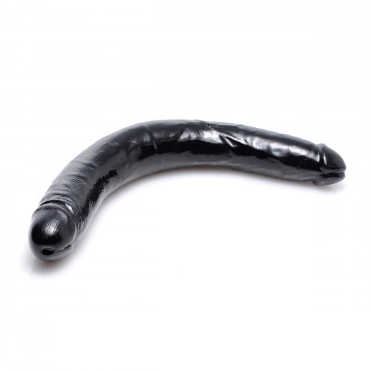 Realistic 17.5 Inch Double Dong - Black