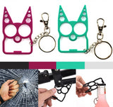 Defensive Kitty Key Chain Stay Safe
