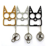 Alloy Cute Cat Keychain