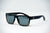 Matte black tortoise fade polarized sunglasses