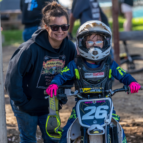 Moto Maycie and her mom
