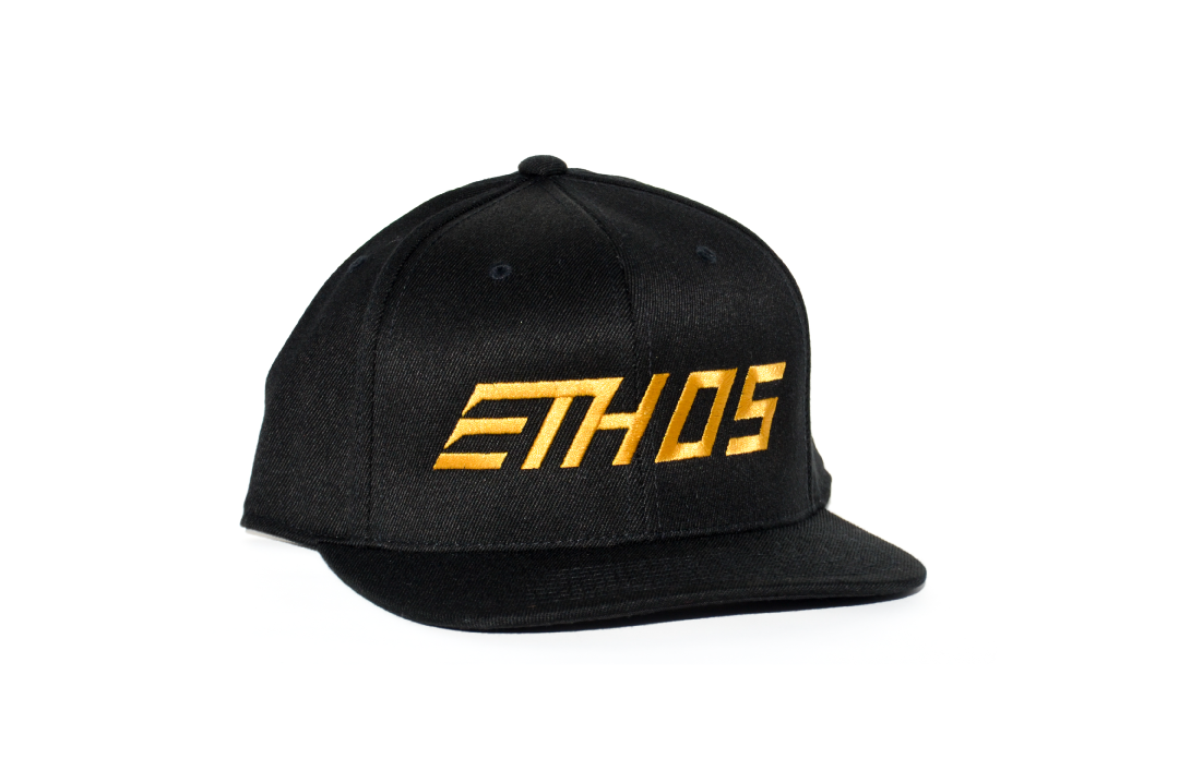 Podium Hat - Black/Gold