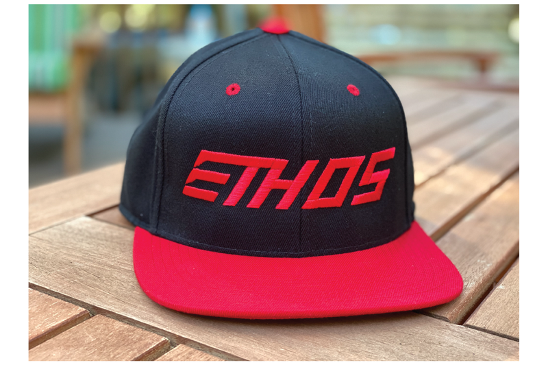 Podium Hat - Red/Black