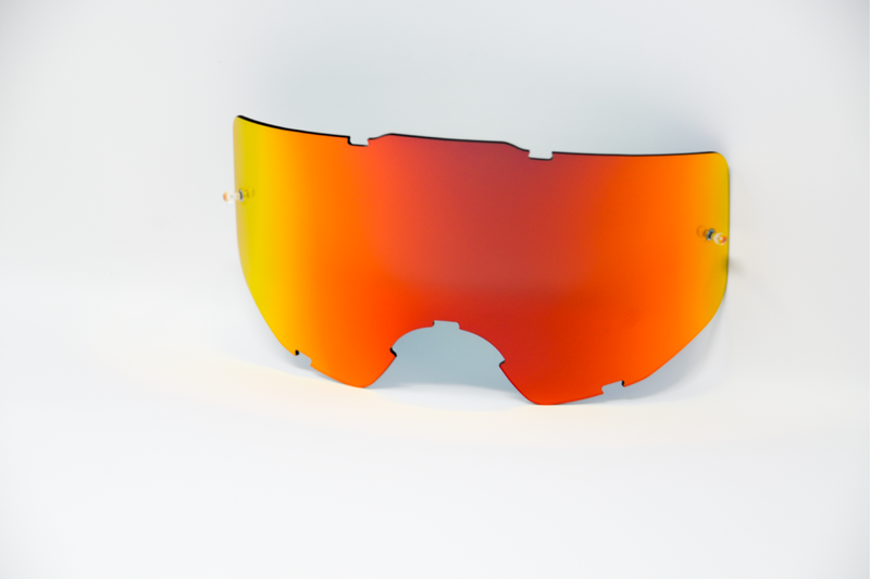 Holeshot Blaze Mirrored lens - Pre Curved